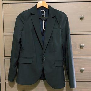 Lands' End Classic Clothing Indigo Blazer